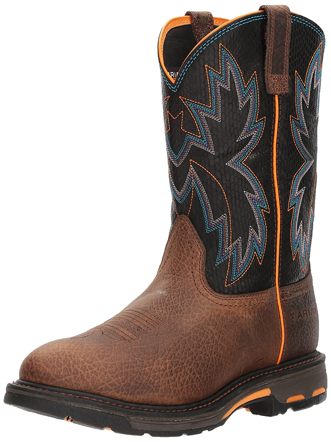 Ariat Work メンズ Workhog Raptor B076MCT7DT 8.5 D(M) US|Earth/Black Snake Print Earth/Black Snake Print 8.5 D(M) US