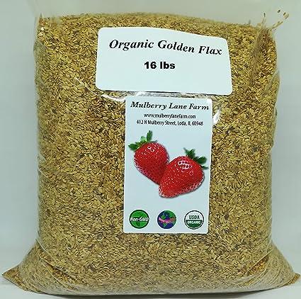 Semillas de lino dorado (semillas de lino) de 89.6 lbs (6,4 ...