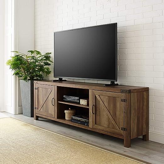 We Furniture Az70bdsdro Tv Stand 70 Rustic Oak Amazon Ca Home Kitchen