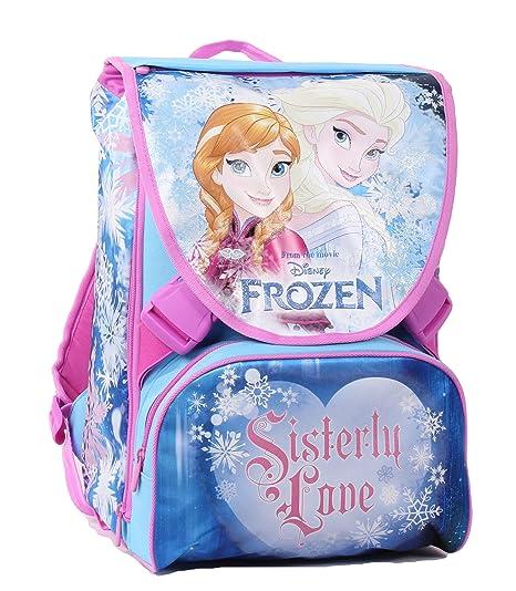 633dd368fa Zaino da Scuola Frozen - Sdoppiabile, Estensibile, Poliestere, Multicolore