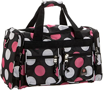 9d9b6aea8487 Rockland Luggage 19 Inch Tote Bag, Multi Pink Dots, One Size