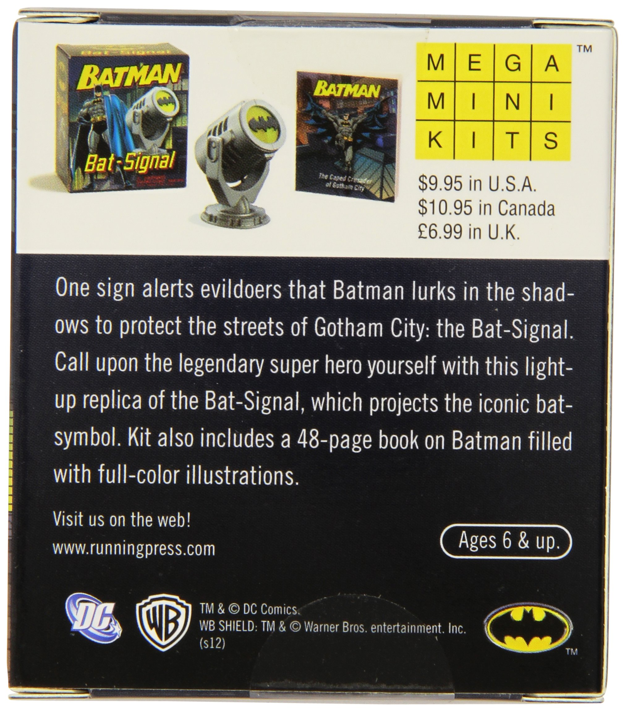 Amazoncom Batman Bat Signal Miniature Editions 0000762445262