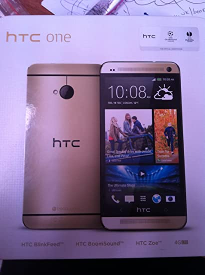Amazon com: HTC One M7 Gold 32GB International Version