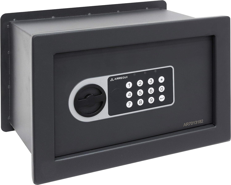 Arregui 16501W-S1 Caja Fuerte de Pared electrónica: Amazon.es: Bricolaje y herramientas