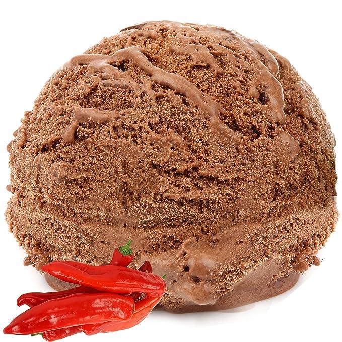 Sabor de chili y chocolate para helado de leche 1 Kg Helado de Gino Gelati Helado