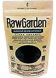 Raw Garden Hawaiian Black Lava Coarse Salt 1 lb Bag
