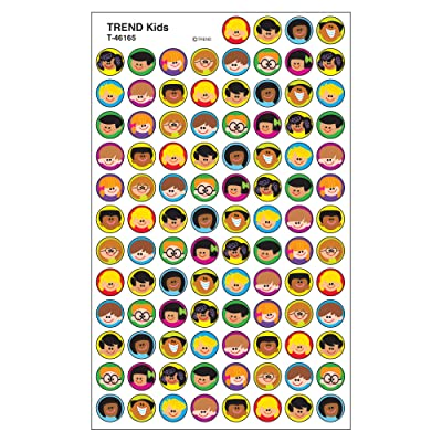 Trend Enterprises Inc. Trend Kids superSpots Stickers, 800 ct: Toys & Games
