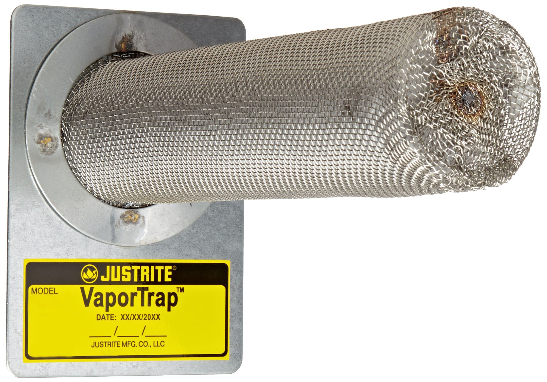 Justrite 29916 VaporTrap Cabinet Filter, 2-1/4'' Diameter x 8-3/4'' Length (Pack of 2)