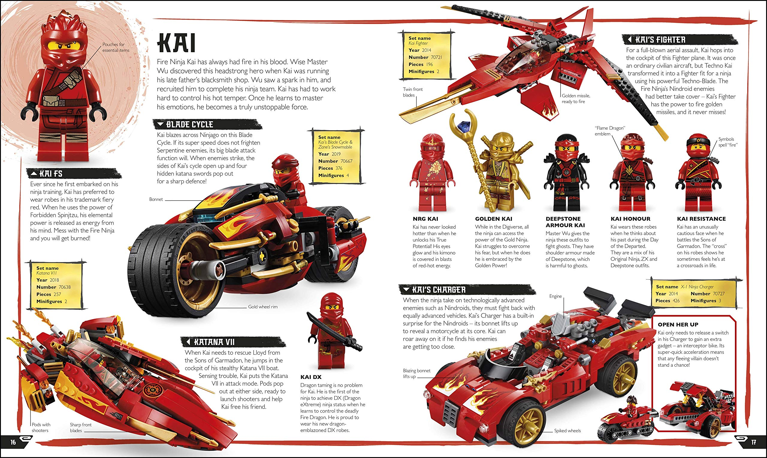 LEGO NINJAGO Visual Dictionary New Edition: With Exclusive ...