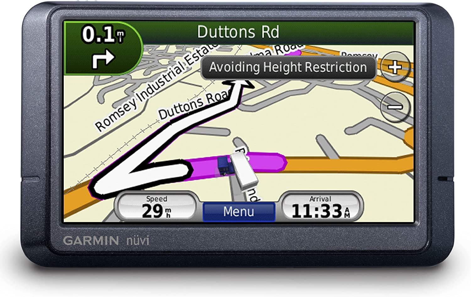 TomTom Go Professional 6250 GPS Truck Sat Nav with Full European Bus Caravan Lifetime Maps and Traffic Services Designed for Truck Coach Motor-homes and Other Large Vehicles Including UK
