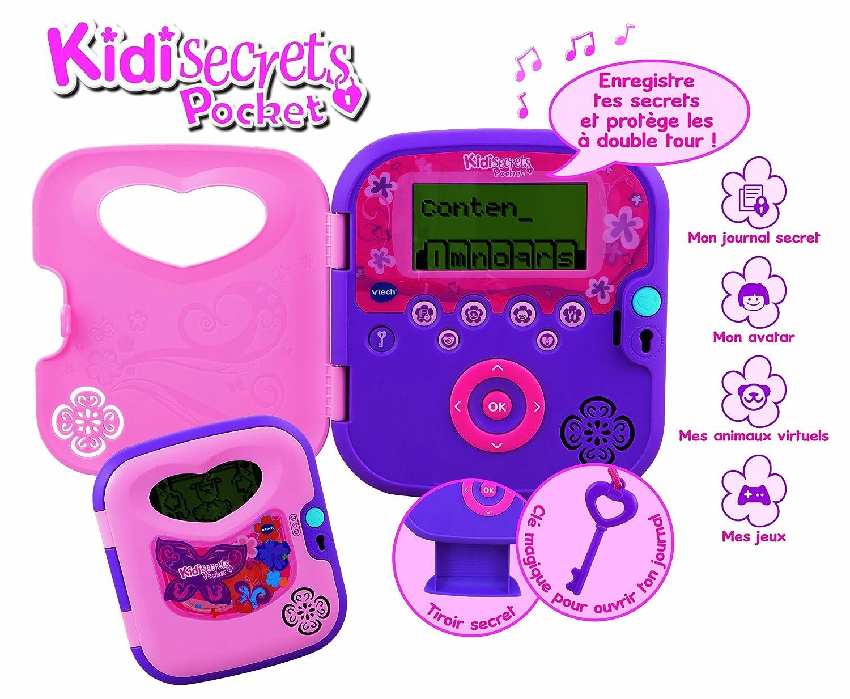 Amazon.es: VTech 133505 Kidi Secrets Pocket - Agenda ...
