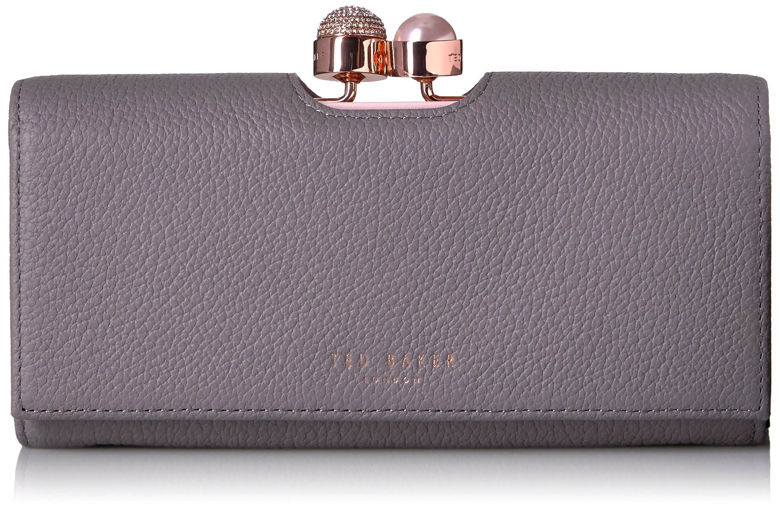 Ted Baker Marta Wallet,Crystal Pearl Bobble Matinee,mid grey,One Size by Ted Baker