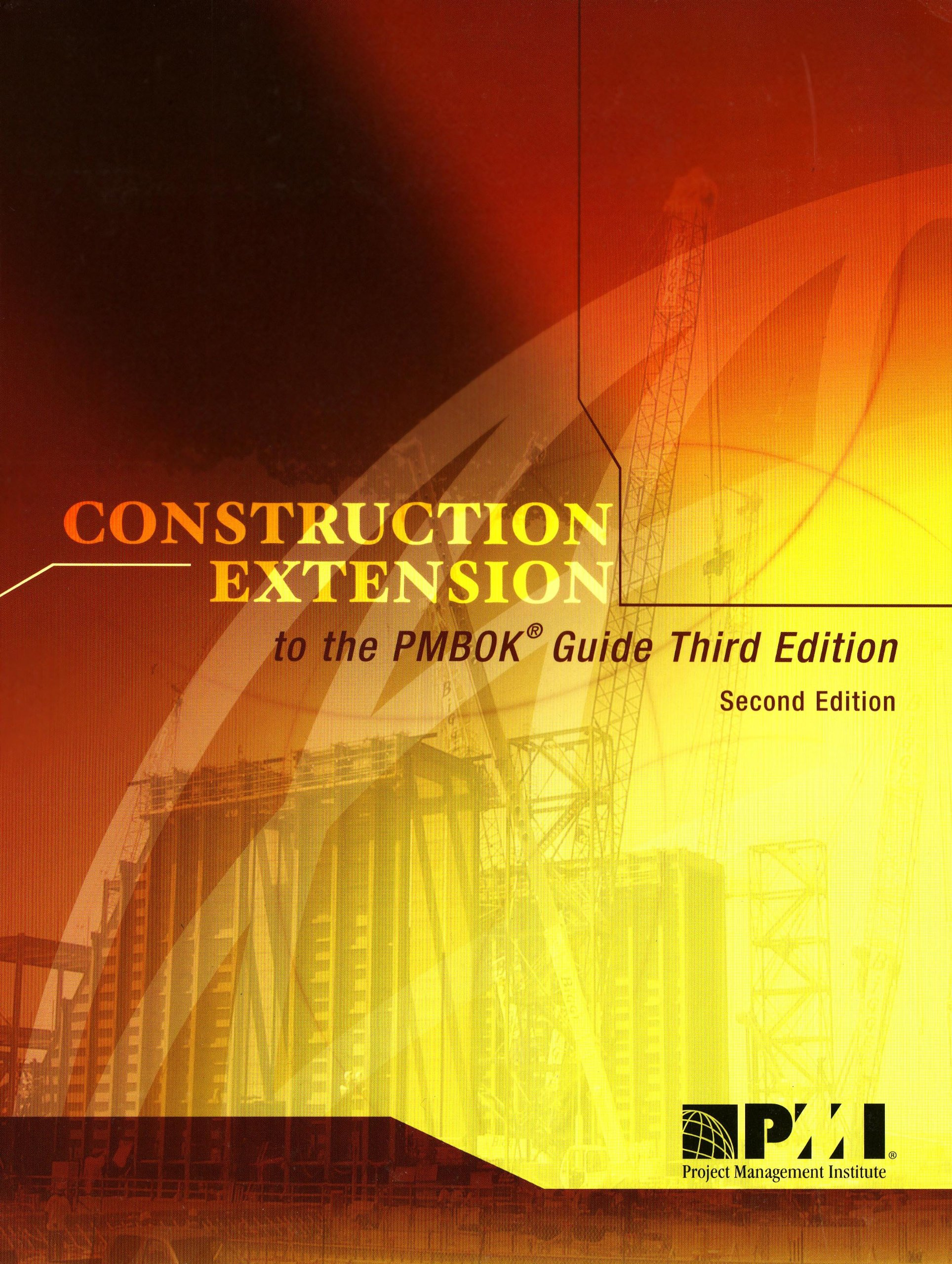 Download Construction Extension to the PMBOK Guide pdf