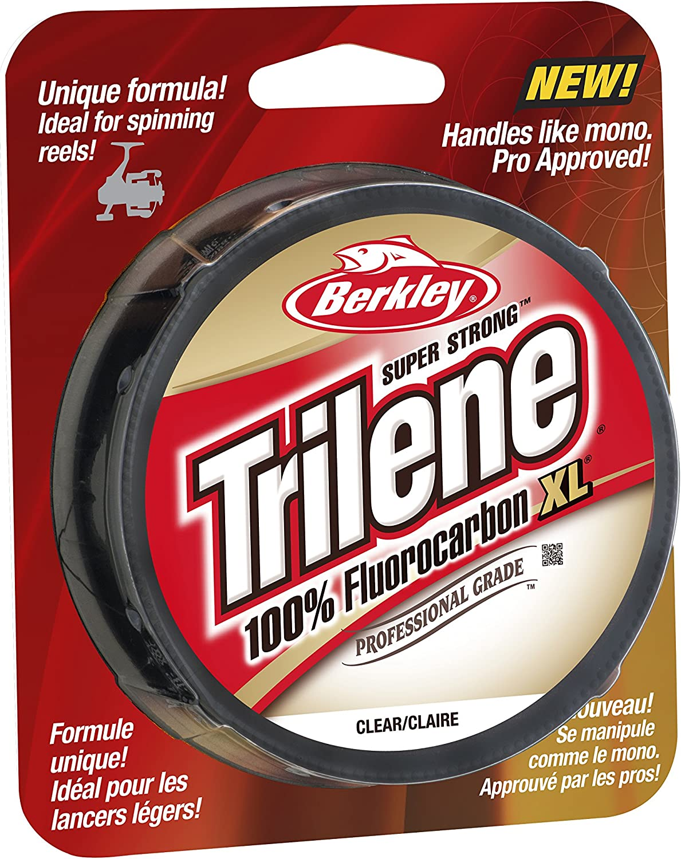 Berkley Trilene Fluorocarbon Leader Clear 25m Raubfischvorfach Vorfach Material