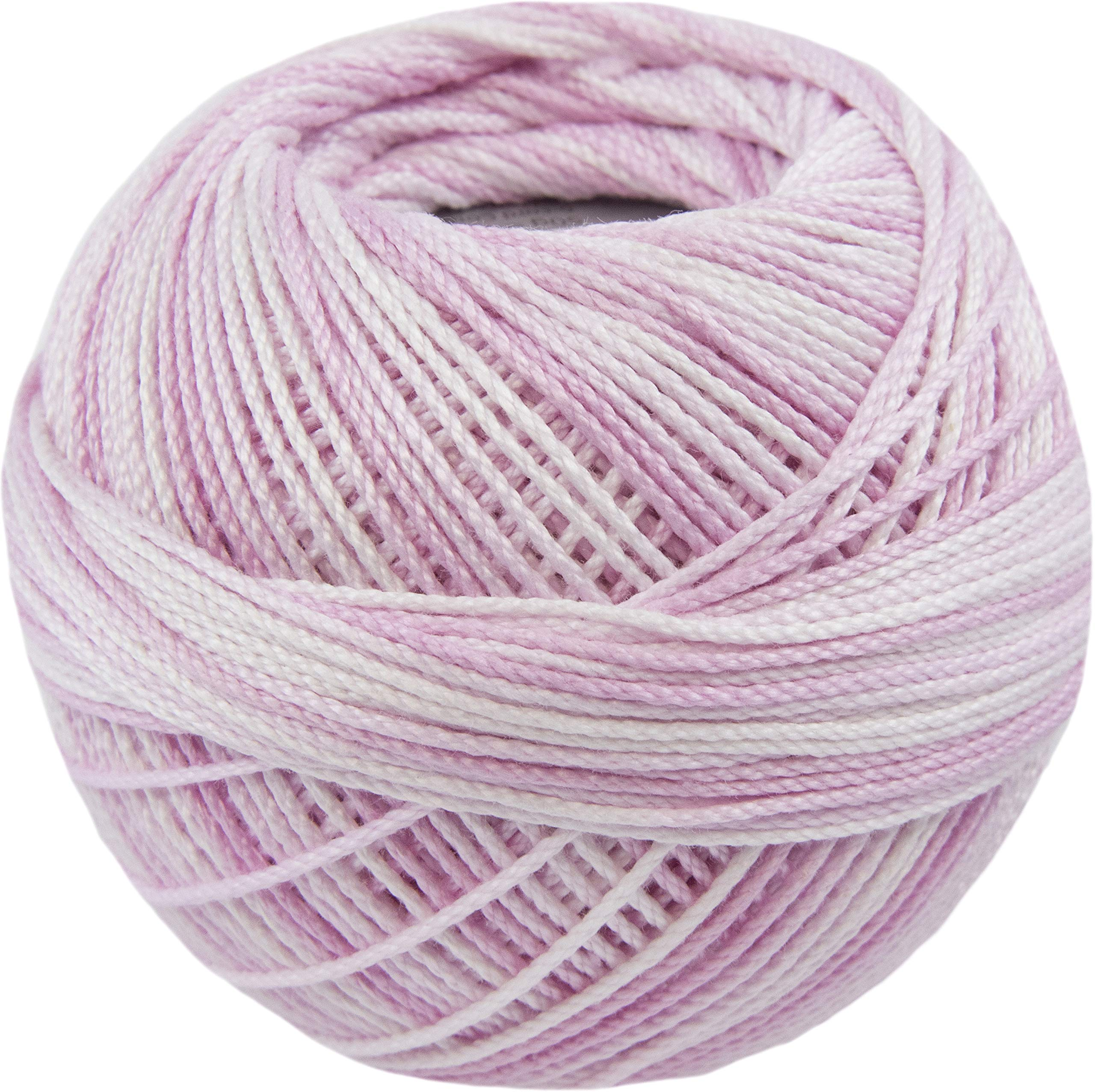 Handy Hands Lizbeth Cordonnet Cotton Size 3-Pink Ice