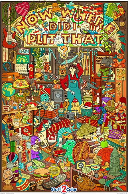 Amazon.com: World's Most Challenging Coloring Poster - Giant Size 32