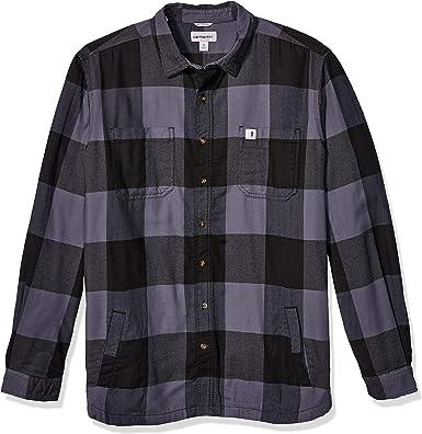 Carhartt Mens Rugged Flex Hamilton Fleece Lined Shirt ...