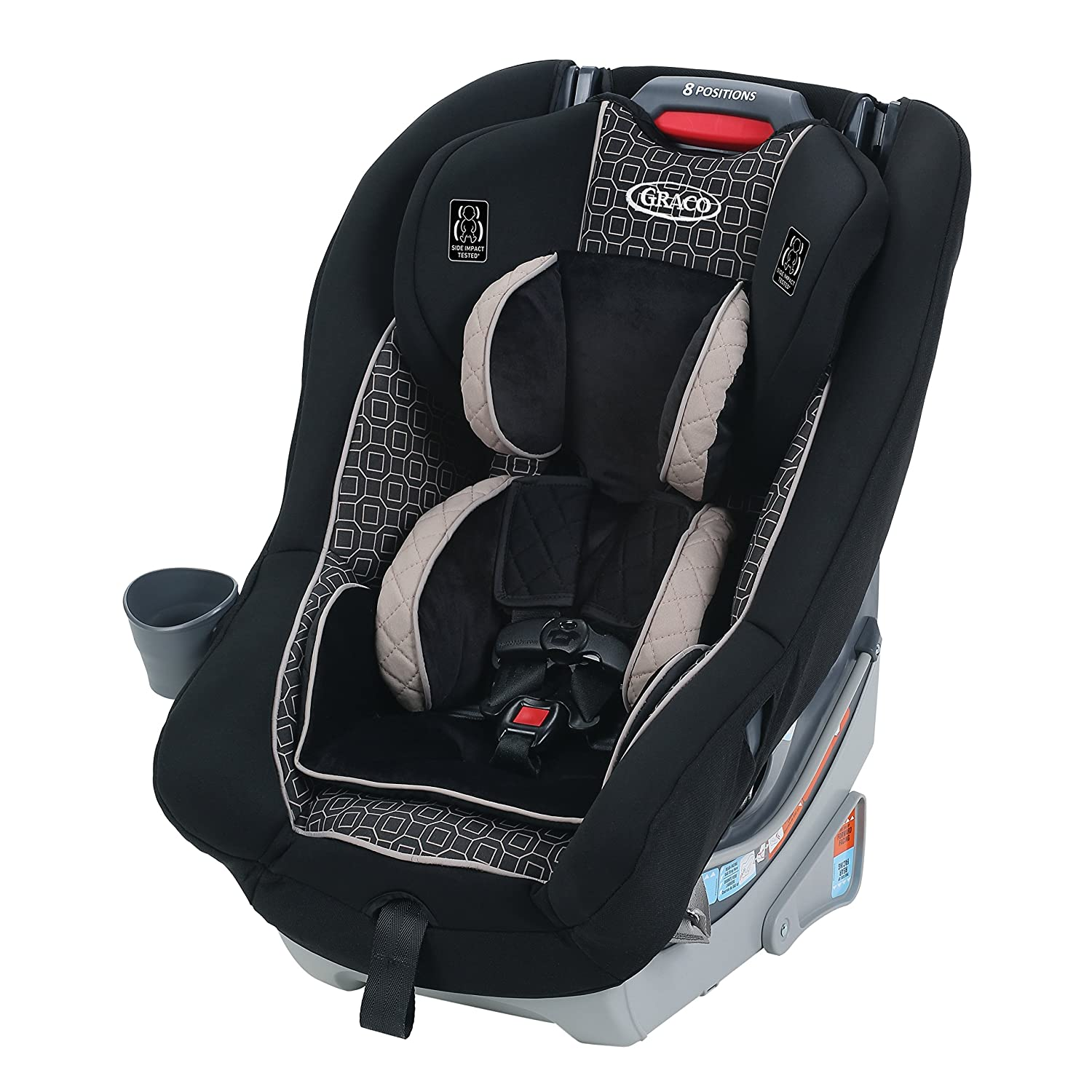 Graco Dimensions 65 Convertible Car Seat, Rockweave 1973926