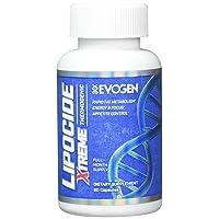 Lipocide Xtreme | Maximum Strength Single Capsule Extreme Fat Burner, Dynamine, Capsimax, Bioperine | 60 Capsules