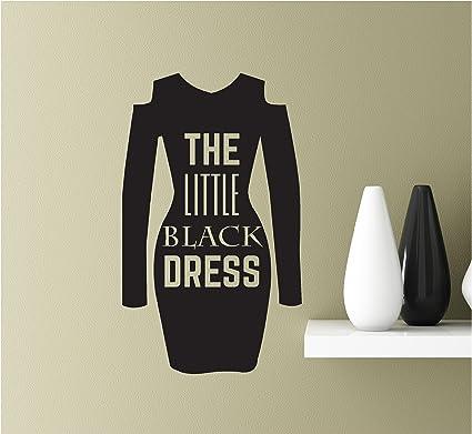 Amazon The Little Black Dress 22x13 Vinyl Wall Art