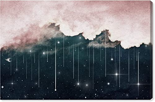 The Oliver Gal Artist Co. Nature and Landscape Wall Art Canvas Prints Eyes Starry Night' Home D cor