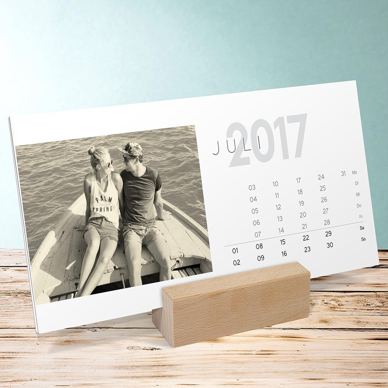 Foto Calendario de sendmo ments, 260 x 120 mm con soporte de ...
