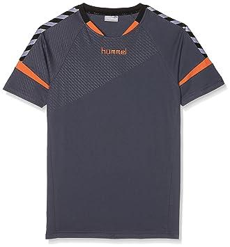 Hummel Niños AUTH Charge SS Train Jersey – Camiseta, Infantil, 103679-8730,