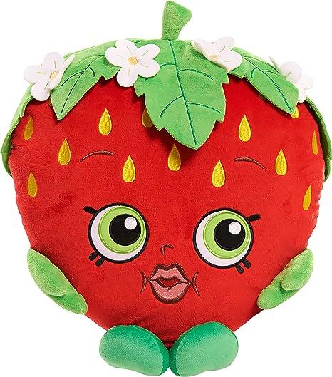 Amazon Com Shopkins Strawberry Kiss Cuddle Pillow Plush Toys Games