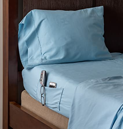 Speedy Sheets 4 Piece Queen Bed Sheet Set, Fitted And Top Sewn Together At  The