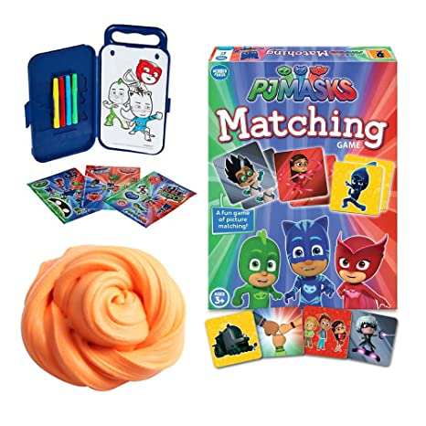 PJ Mask Game - Matching with Owlette, Catboy, Gekko, Night Ninja, Ninjalino