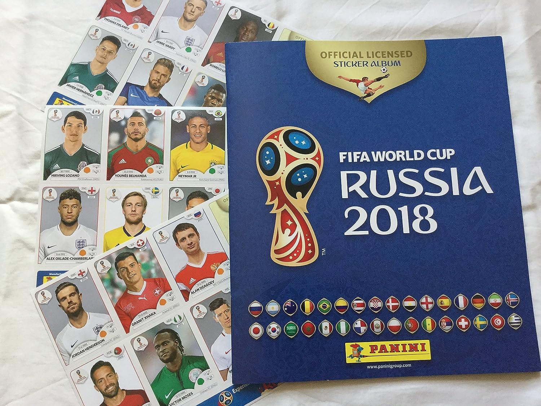 Panini 2018 FIFA - Taza de fútbol (álbum de fútbol y 3 paquetes de pegatinas): Amazon.es: Deportes y aire libre