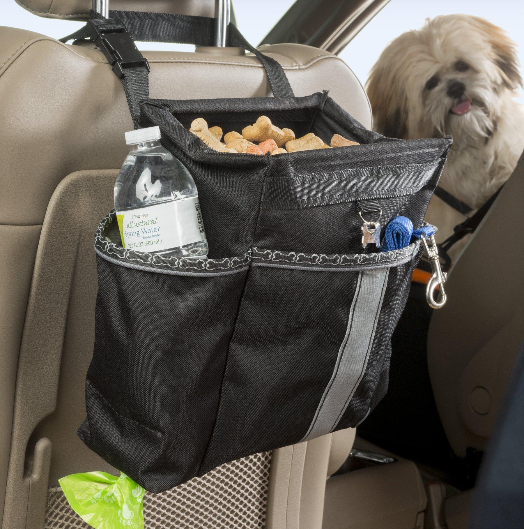 High Road Wag'nRide Dog Car Seat Organizer with Waste Bag Dispenser