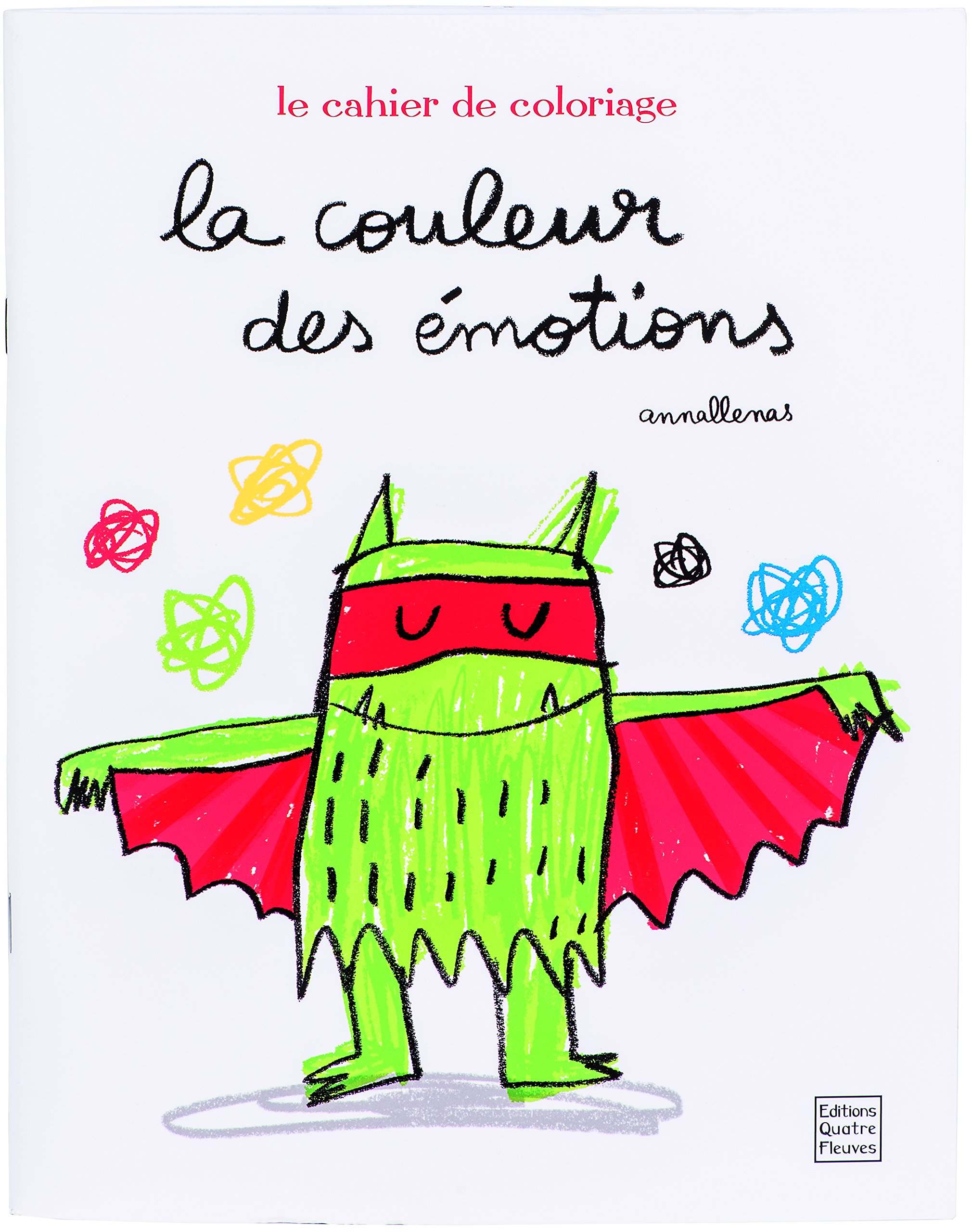 Amazonfr La Couleur Des émotions Cahier De Coloriage Anna