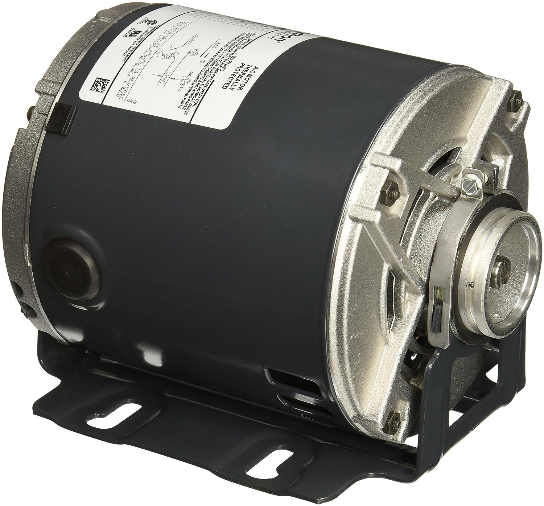 Marathon 4406 48Y Frame Open Drip Proof 5KH32FN5586X Carbonator Pump Motor, 1/3 hp, 1800 RPM, 115 VAC, 1 Split Phase, 1 Speed, Sleeve Bearing, Rigid Base