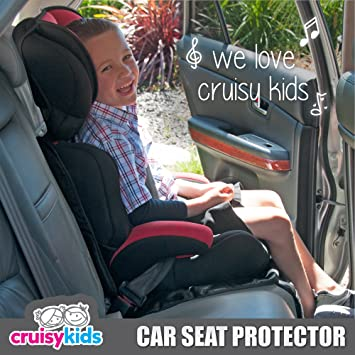amazoncom cruisy kids car seat protector for baby and infant baby
