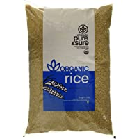 Pure & Sure Organic Brown/Un Polished Rice, 5kg