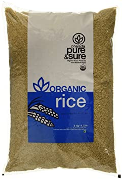 Pure and Sure Organic Brown Rice, 5kg