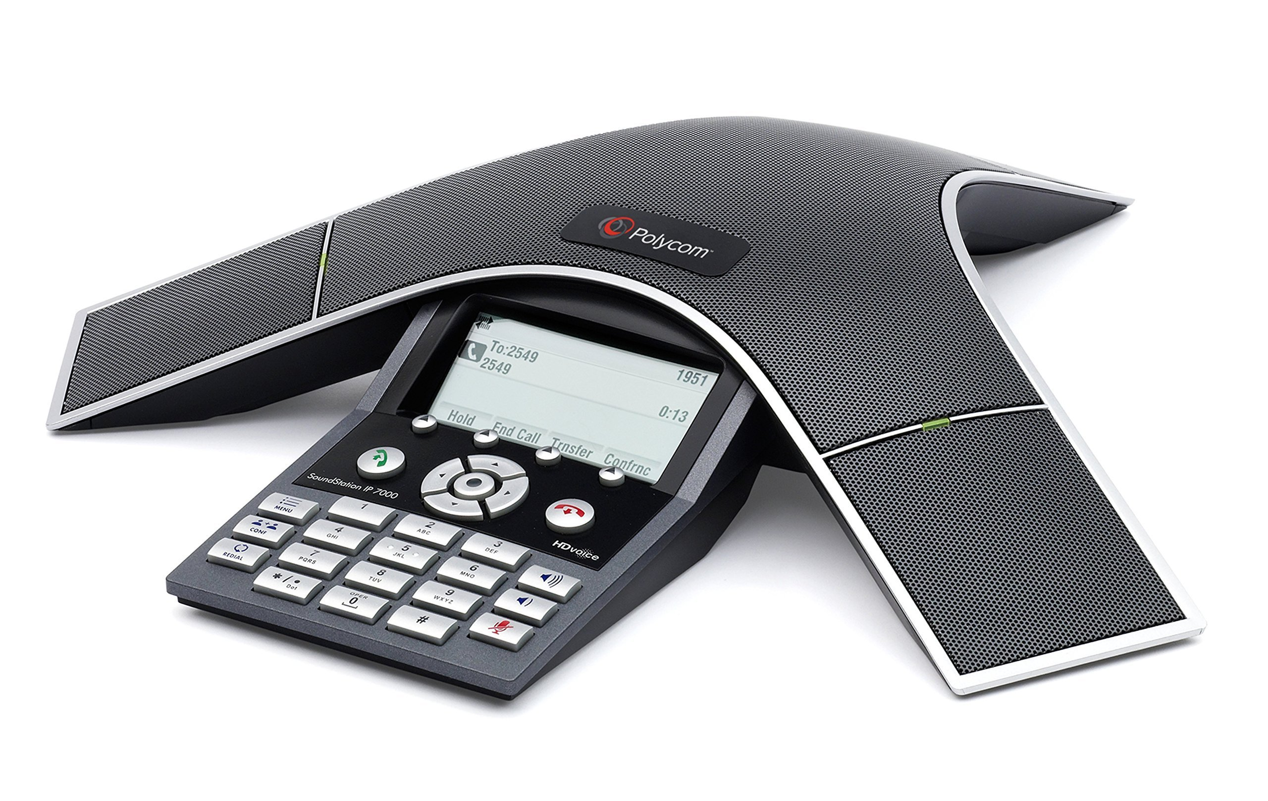 Polycom SoundStation IP 7000 Conference Phone Power Supply Included (Renewed) by Polycom (Image #1)