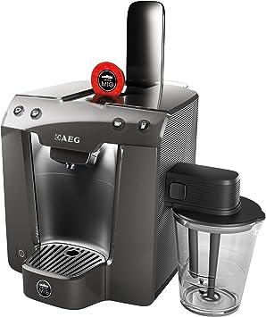 AEG LM5400 - Cafetera (Independiente, Gris, Cápsulas, Café con leche, Capuchino, Café expreso, 0,9L, 1300W): Amazon.es: Hogar