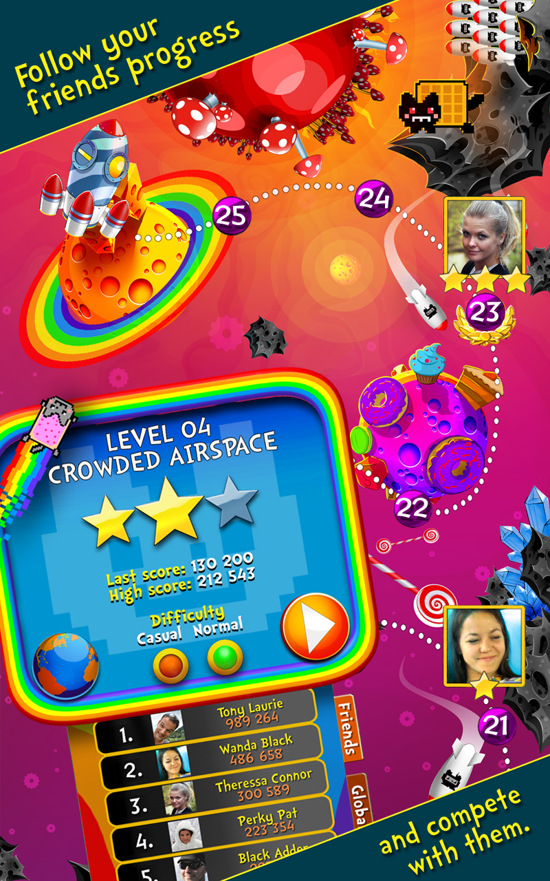 Nyan Cat Game На Android - YouTube