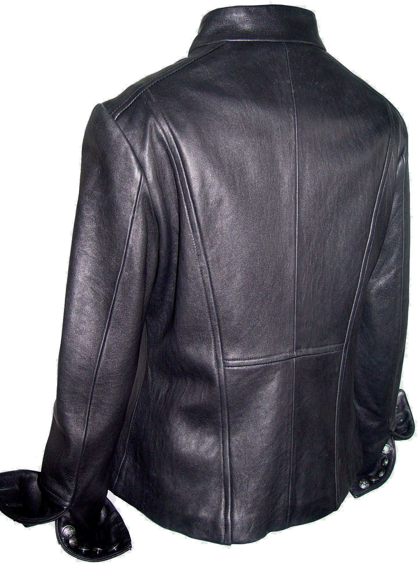Johnny 4003 Best Cool Leather Blazer Jackets Fitted Business Clothing Soft Lamb by Johnnyblue (Image #3)