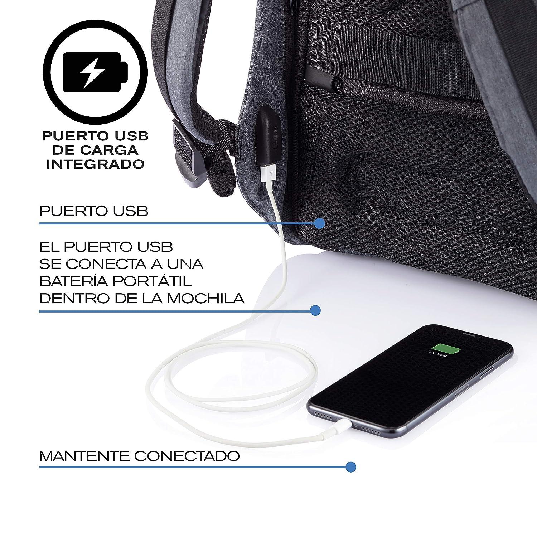 XD Design Bobby Compact Print Mochila Antirrobo Camouflage Azul (Bolsa USB): Amazon.es: Equipaje