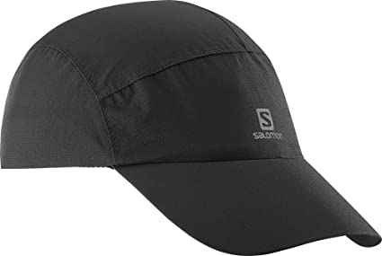 9f2ccb0e Amazon.com : Salomon Unisex Waterproof Cap, Black, One Size : Clothing