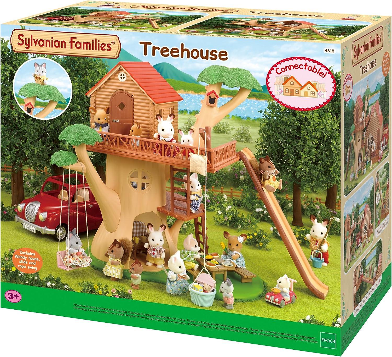 Sylvanian Families 4618 Casa árbol, 3+: Amazon.es: Juguetes y juegos