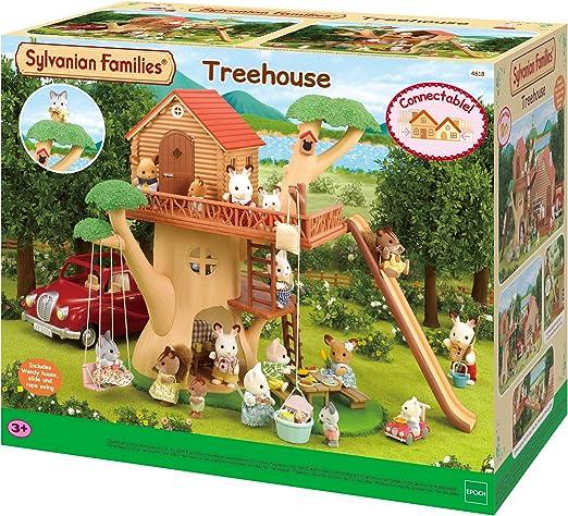 Sylvanian FAMILIES 5318 Baby Casa sull/'Albero /& Scoiattolo Figura Playset nuovi bambini giocattolo