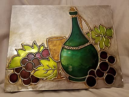 Amazon.com: Wine and Grapes wall Decor: Wall Art