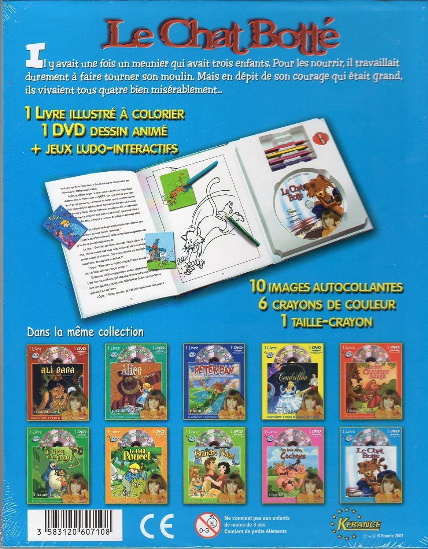 Mis Primeros Cuentos raconté par Chantal Goya - El Libro De La Selva (1 libro + 1 DVD Intéractif + 10 imágenes autoadhesivas + 6 lápices de colores lápiz + ...