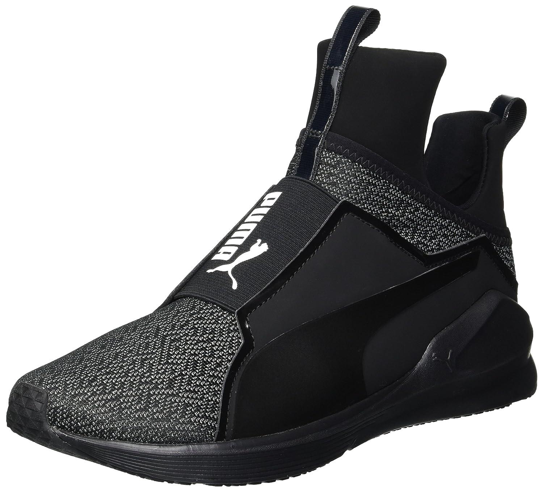 PUMA Women's Fierce Varsity Knit Wn Sneaker B072VDMS42 8.5 B(M) US|Puma Black-puma Black