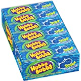 Hubba Bubba Sour Blue Raspberry Bubble Gum, 5 Piece (Pack of 18)