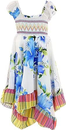 GILLSONZ Neu601vDa - Vestido de verano para niña